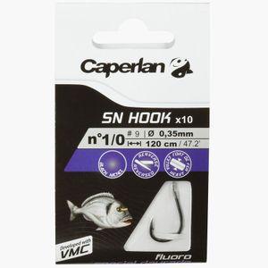 Hooks Caperlan SN HOOK FLUORO DAURADE 2