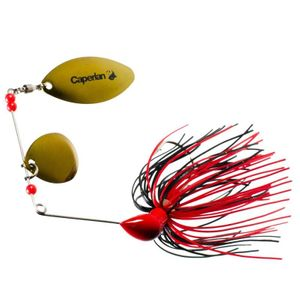 Lures Caperlan BUCKHAN 3/8OZ ROUGE/NOIR