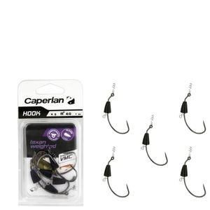 Hooks Caperlan HOOK TEXAN WEIGHTED 4/0