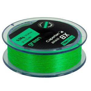 Lines Caperlan BRAID 8 X GREEN 130 M 25/100