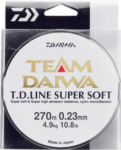Lines Daiwa TEAM DAIWA LINE SUPER SOFT 20/100 VERT MOUSSE 270 M
