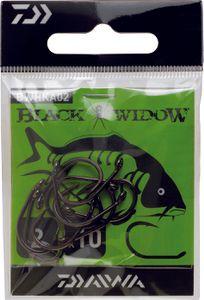 Hooks Daiwa HAMEÇON BLACK WIDOW CARPE TYPE A N° 1/0 BWHKA1-0
