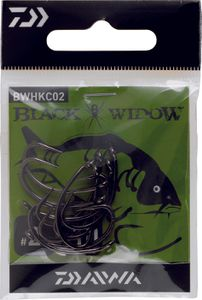 Hooks Daiwa HAMEÇON BLACK WIDOW CARPE TYPE C N° 4 BWHKC04