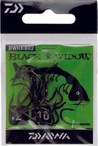 Hooks Daiwa HAMEÇON BLACK WIDOW CARPE TYPEB N° 2 BWHKB02