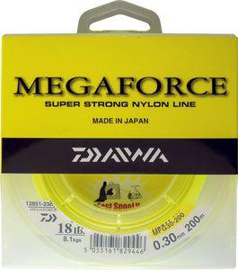 Lines Daiwa MEGAFORCE 35/100 JAUNE 200 M