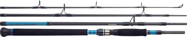 Rods Daiwa POWERMESH TRAVEL LEURRE MER MULTIBRIN PMT244HAF