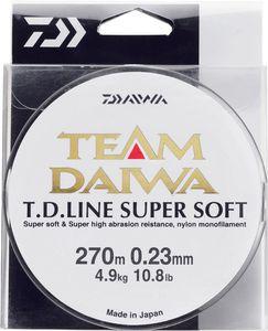 TEAM DAIWA LINE SUPER SOFT 23/100 VERT MOUSSE 135 M
