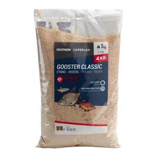 GOOSTER CLASSIC TOUS POISSONS 4X4 1KG GOOSTER CLASSIC 4X4 1KG