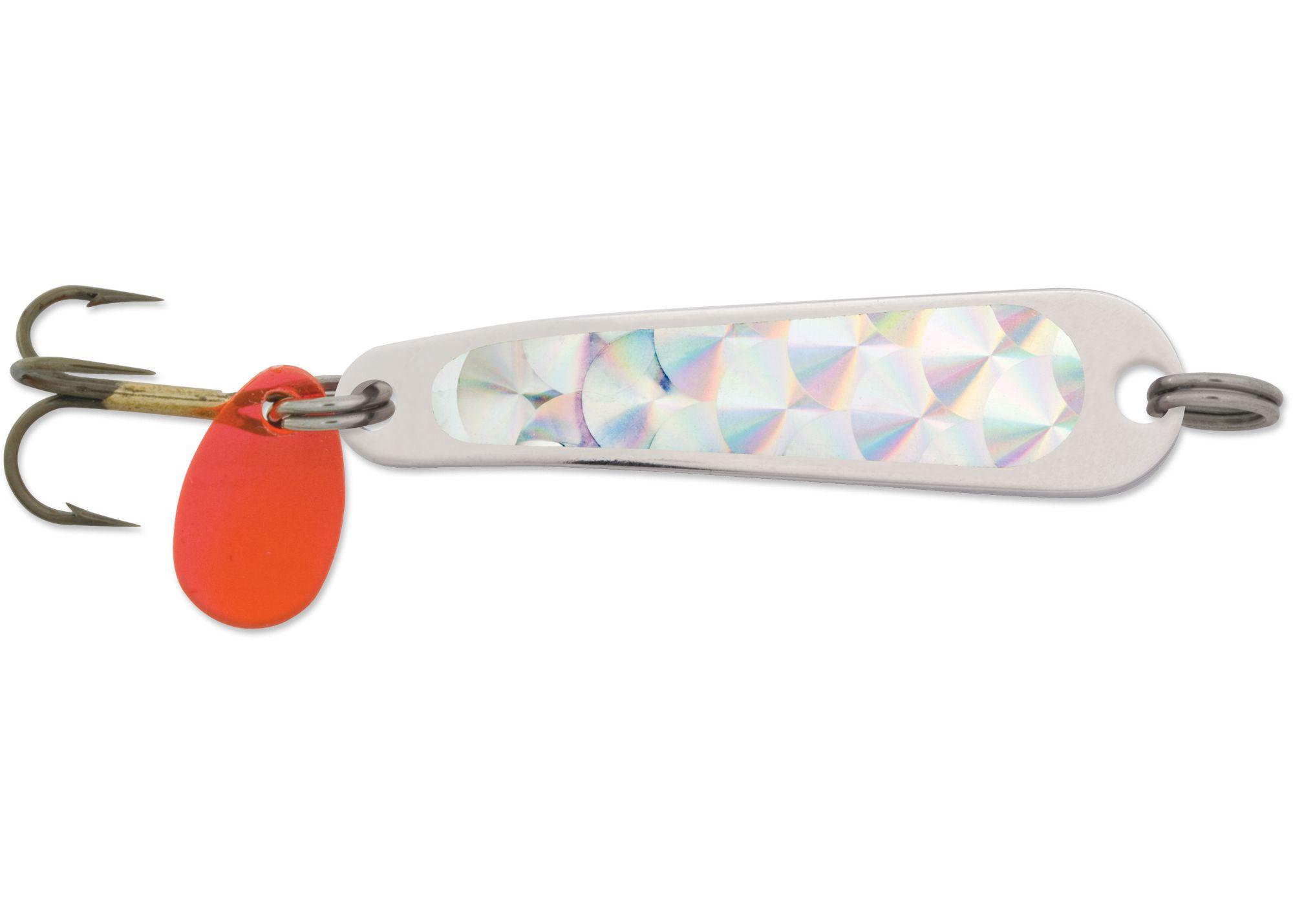 HUS-LURE 112 NICKEL/SILVER PRISM-LITE