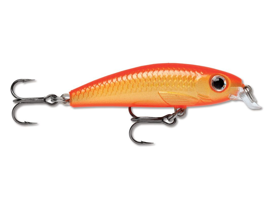 Rapala  Ultra Light Minnow ULM04 Gold Fluorescent Red