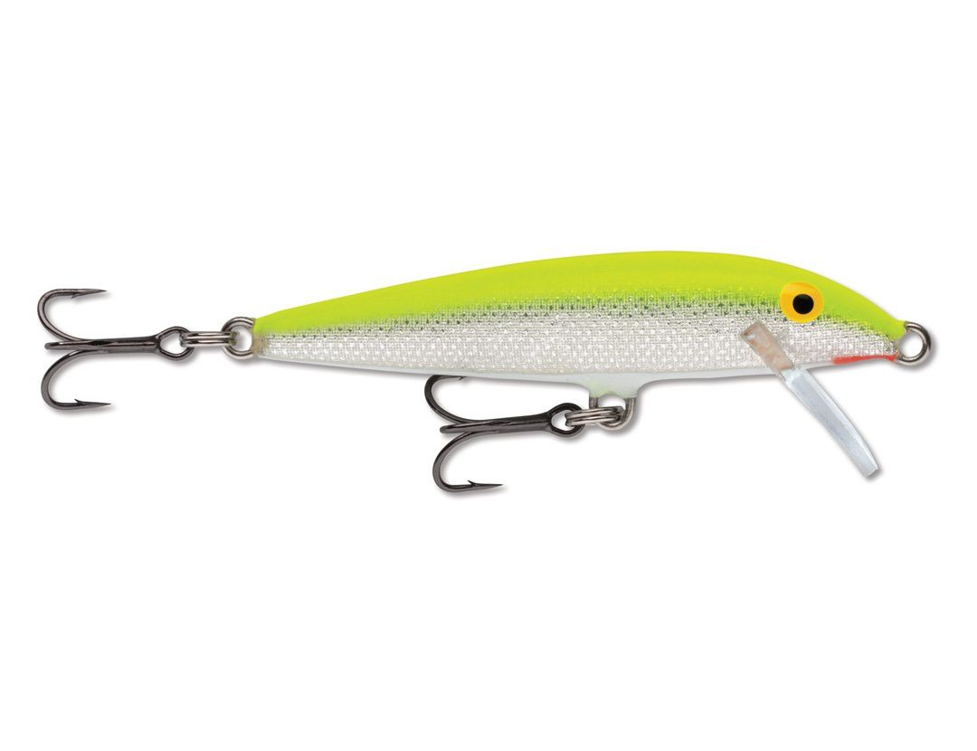 ORIGINAL FLOATER F09 SILVER FLUORESCENT CHARTREUSE