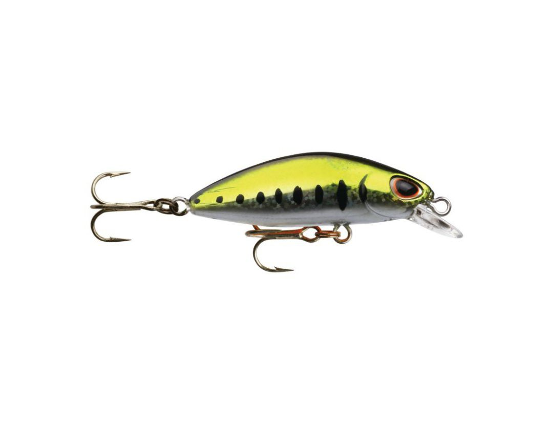 GOMOKU MINNOW GM35SP GREEN MUDDLER