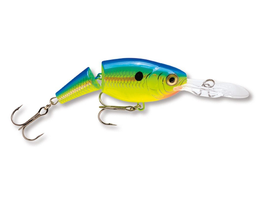 JOINTED SHAD RAP JSR07 PARROT