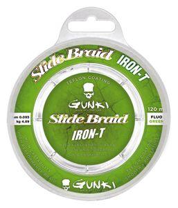 SLIDE BRAID IRON-T 120 FLUO GREEN 0,223