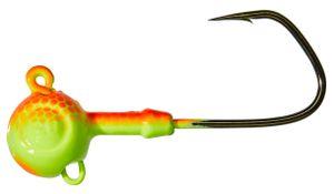 Hooks Gunki G ROUND PIKE SHORT-S ORANGE YELL 20G 5/0