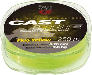 CAST LINE FLUO YELLOW 0,26