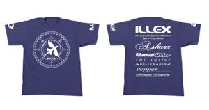 T-SHIRT ILLEX TEAM BLUE T.L