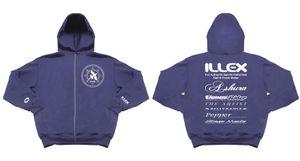 Apparel Illex SWEAT CAPUCHE ILLEX TEAM BLUE T.XL
