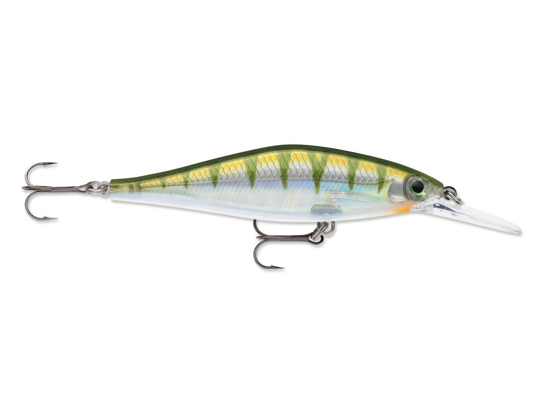 Rapala  Shadow Rap Shad Deep SDRSD09 Yellow Perch