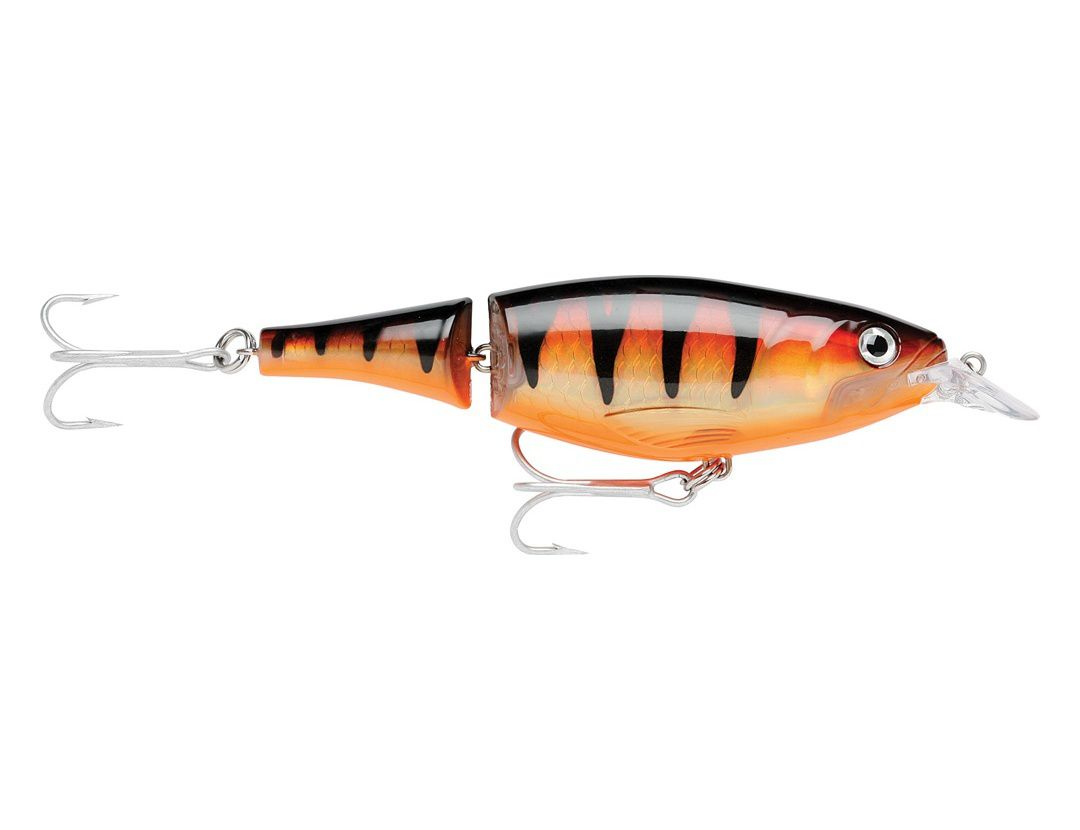 X-RAP JOINTED SHAD XJS13 BROWN PERCH