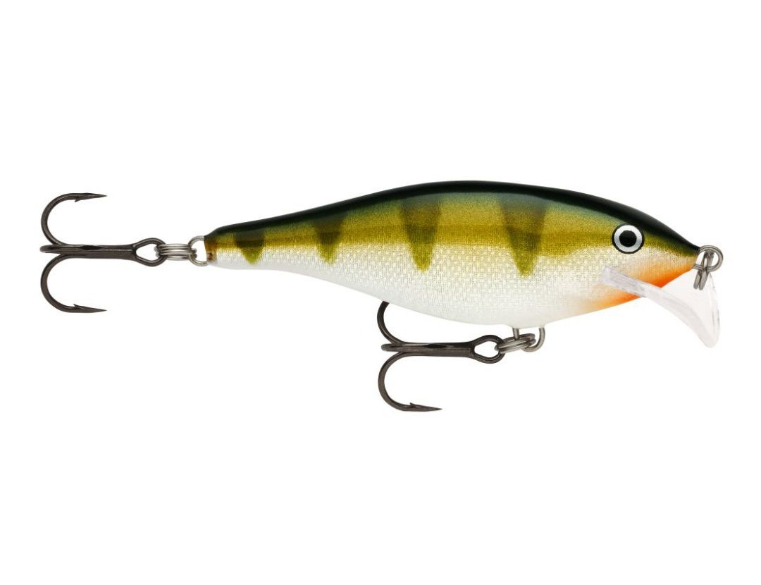 SCATTER RAP SHAD SCRS07 YELLOW PERCH
