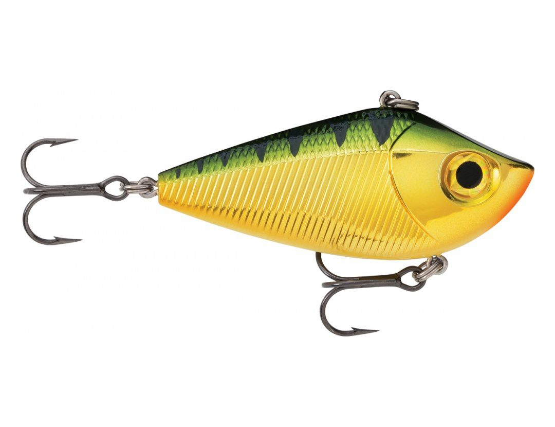 ROCKIN' SHAD RKSD06 CHROME YELLOW PERCH