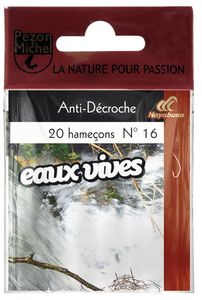 Hooks Pezon & Michel HAM.N.MTES EAUX VIVES ANTI DECROCHE 10