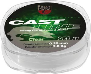NYLON CAST LINE CLEAR 0,26