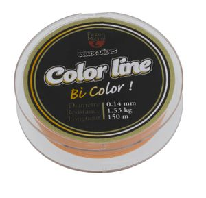 NYLON E.VIVES COLOR LINE ORAN/WHIT .0,165