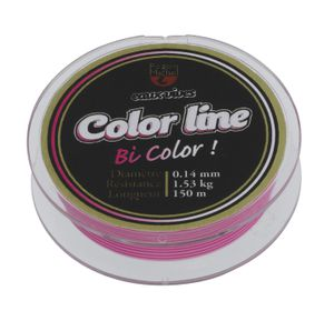 NYLON E.VIVES COLOR LINE PINK/WHIT .0,185