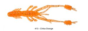 "Lures Reins RING SHRIMP 3"" 413 - CHIKA ORANGE"