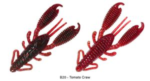 """RING CRAW 3"""" B20 - TOMATO CRAW"""