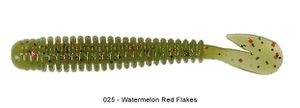 """Lures Reins ROCKVIBE SATURN 2,5"""" 025 - WATERMELON RED FLAKE"""