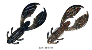 "Lures Reins AX CRAW 3"" B22 - BB CRAW"