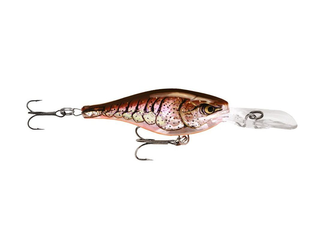 GLASS SHAD RAP GSR05 GLASS BROWN CRAWDAD