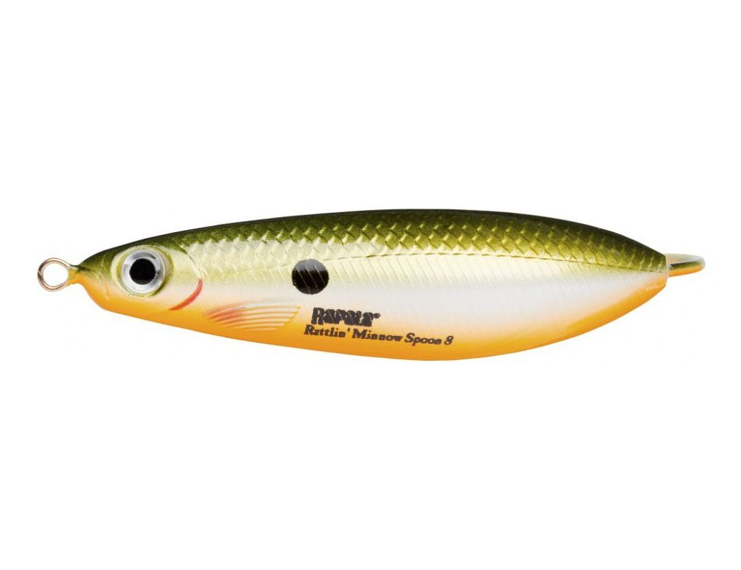 RATTLIN' MINNOW SPOON RMSR08 REDFIN SHINER