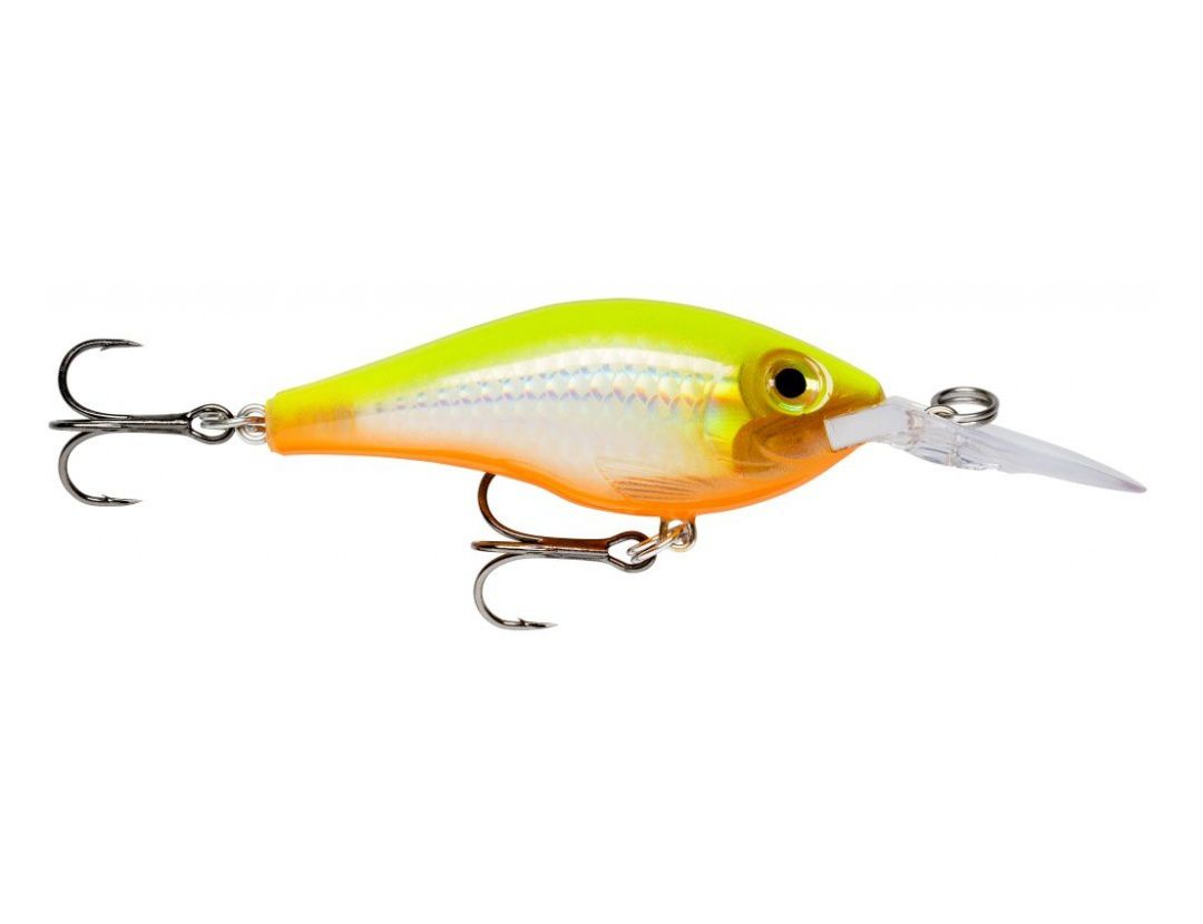 MAXRAP FAT SHAD MXRFS05 FLAKE HOT CHARTREUSE