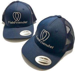 Apparel FishFriender CASQUETTE TRUCKER FILET BLEUE