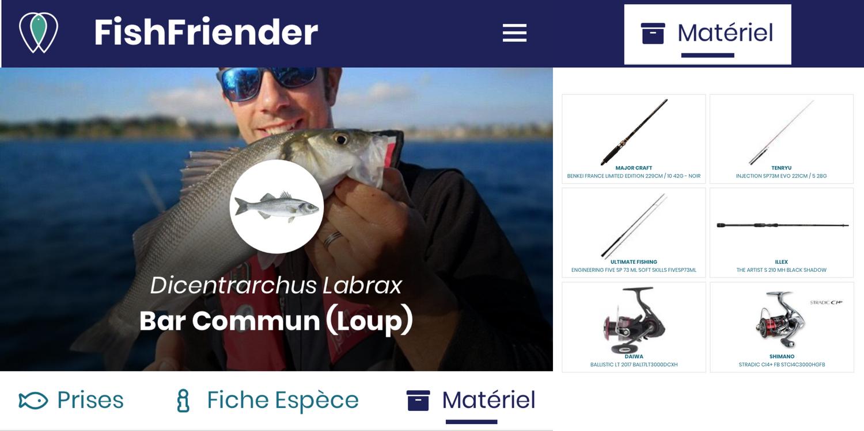 FishFriender, c'est aussi un site