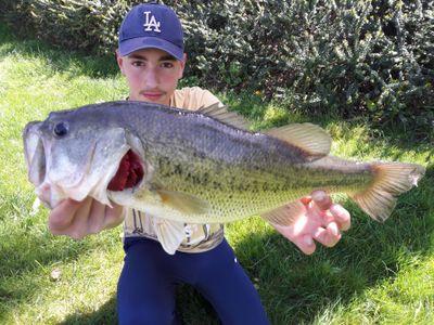 Dylan fishing