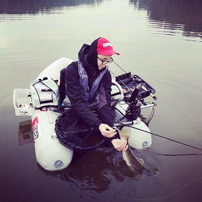 Louis Hingouet compétiteur float tube