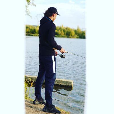 Hugo pêche