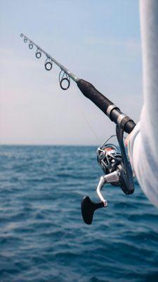 tim fishing