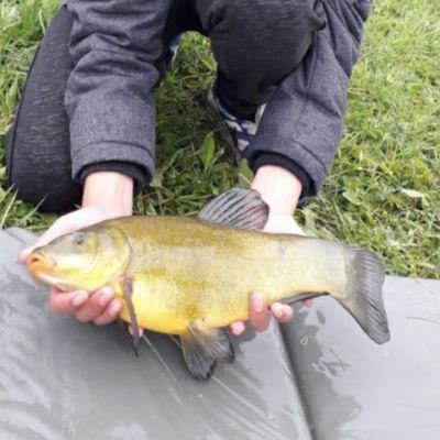Nathan fishing