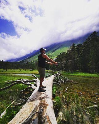 kame fishing