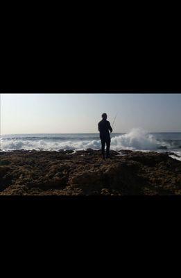 Adrien fishingriverandsea