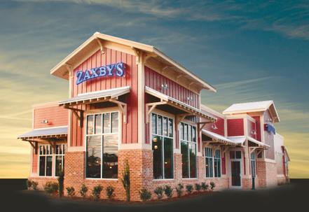Zaxby's restaurants