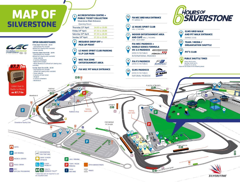 Circuito Silverstone : Silverstone reino unido de julio vista aérea de los