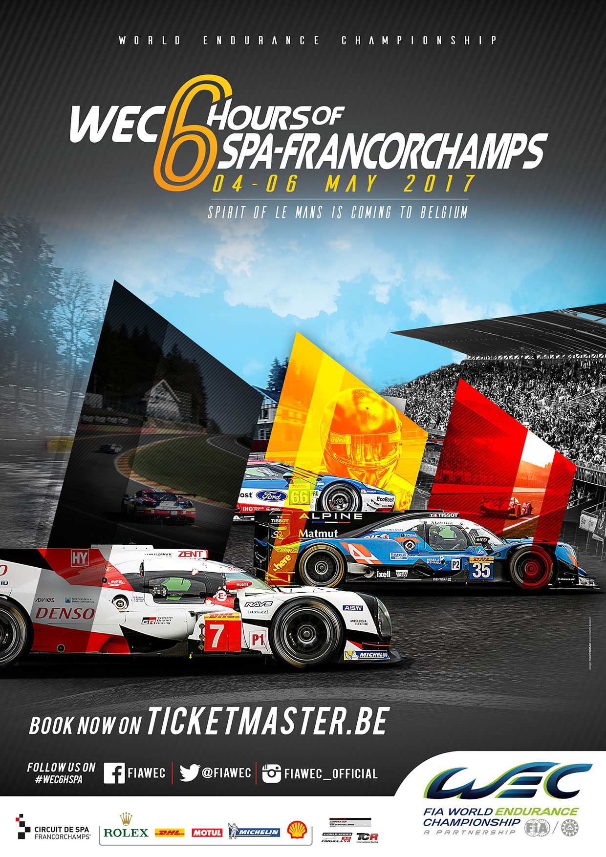 6 Stunden von Spa-Francorchamps 2017 › WEC-Aktuell.de