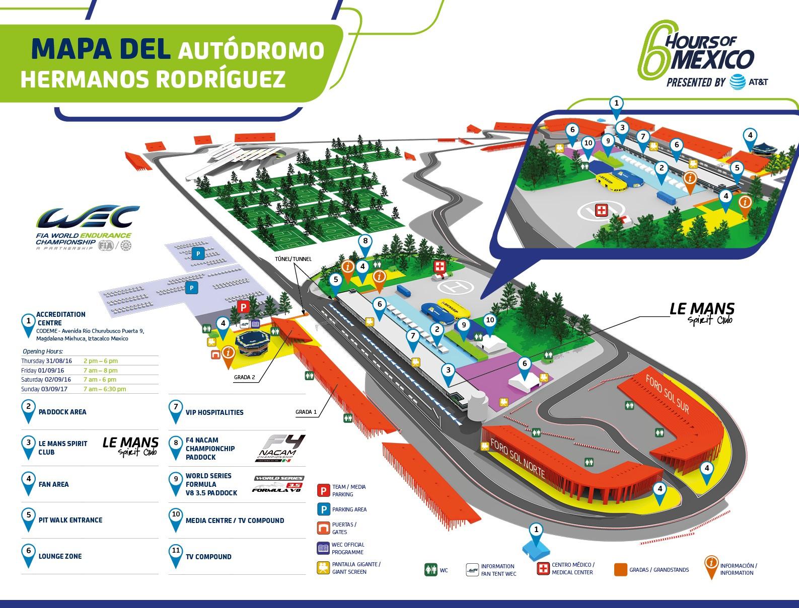 6 horas de m jico 2017 rinc n del motor for Puerta 6 del autodromo